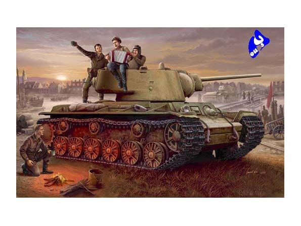 Trumpeter maquette militaire 00360 KV-1 CHAR SOVIETIQUE 1/35