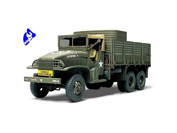 tamiya maquette militaire 32548 US 2.5 Ton 6x6 Cargo Truck 1/48