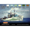 Lifecolor set de peintures cs34 Royal Navy WWII set II