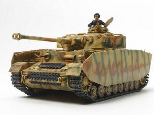 Tamiya maquette militaire 32584 Panzerkampfwagen IV Ausf.H Fin de production 1/48