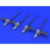 Eduard kit d'amélioration avion 624002 Guns Typhoon Airfix 1/24