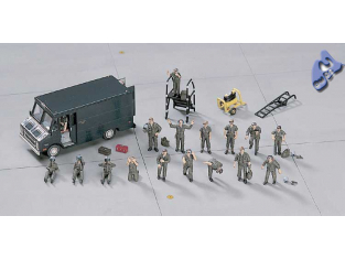 HASEGAWA maquette avion 35007 PILOTES PERSONNAGES 1/72