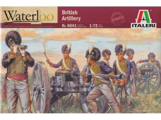 Italeri maquette historique 6041/200 Artillerie Britannique 1/72
