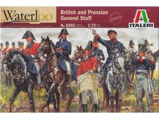 Italeri maquette historique 6065 Généraux prussiens et anglais 1/72