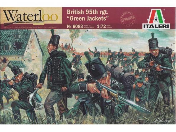 Italeri maquette historique 6083/200 Gilets Vert Britanique 1/72
