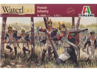 Italeri maquette historique 6066/200 Infanterie Française 1/72