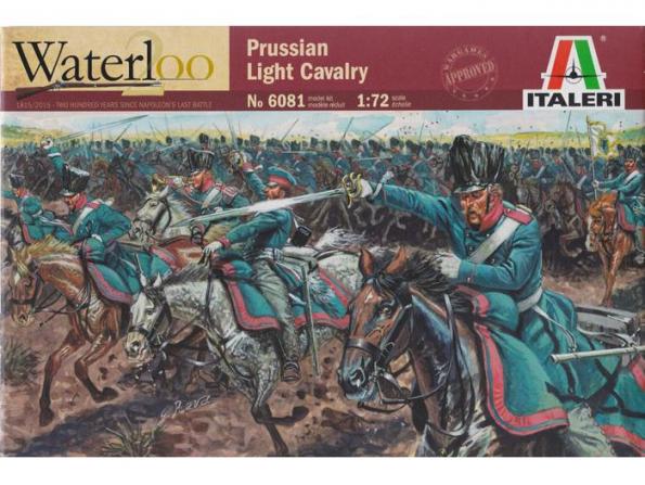 Italeri maquette historique 6081/200 Cavalerie Prusienne 1/72