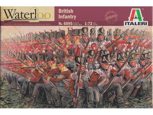Italeri maquette historique 6095 Infanterie Britanique 1/72