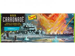 Lindberg maquette bateau 403 USS Carronade 1/170