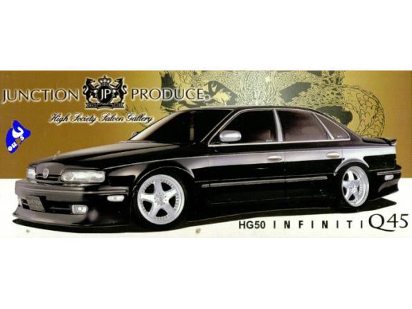 Aoshima maquette voiture 33272 HG50 Infiniti Q45 1/24