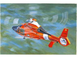 Trumpeter maquette hélicoptère 05107 HH-65C US COAST GUARD DOLPHIN 1/35