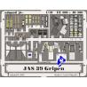 Eduard photodecoupe 49300 JAS-39 Gripen 1/48