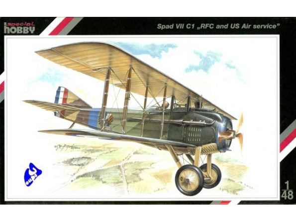 Special Hobby maquette avion 48010 Spad VII C1 1/48