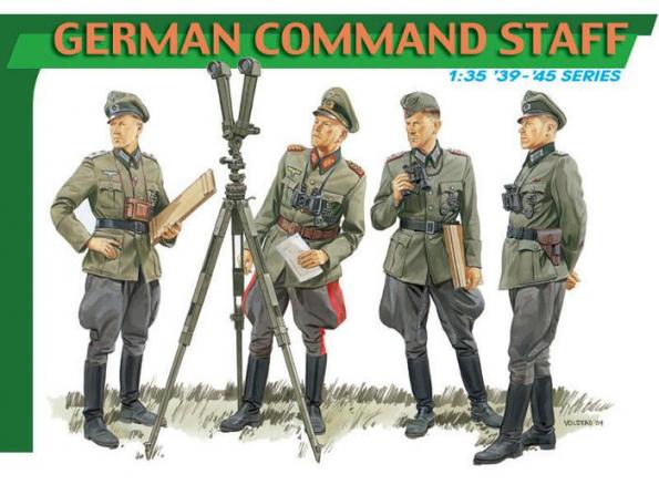 dragon maquette militaire 6213 Etat Major Allemand 1/35