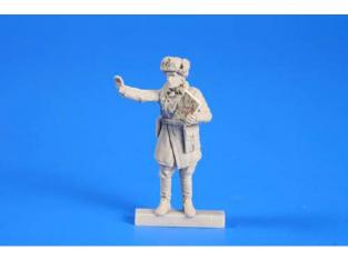 CMK kit personnage F48268 COMMANDANT ARMÉE ROUGE WWII 1/48