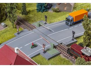 Faller construction train 120244 Barrières de passage à niveau 1/87