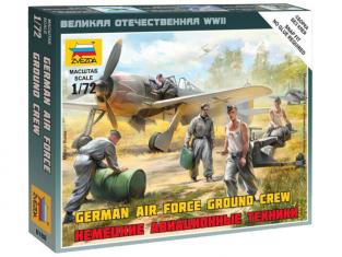 Zvezda maquette avion 6188 Mécaniciens Luftwaffe 1/72