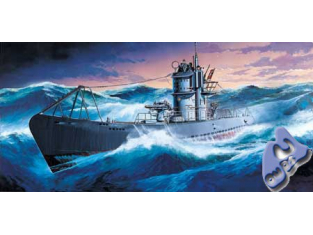 Academy maquettes bateau 1442 U-Boat IXB 1/150
