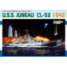 DRAGON maquette bateau 7066 USS Juneau CL-52 1/700