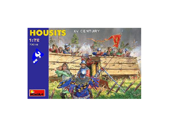 Mini art figurine historique 72010 SOLDATS HUSSITES DE BOHÊME 1/