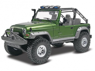 REVELL US maquette voiture 4053 Jeep® Wrangler Rubicon 1/25