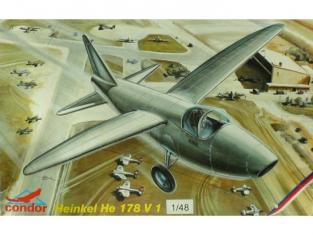 Special Hobby maquette avion C48002 Kit incomplet Heinkel He 178 V 1 1/48