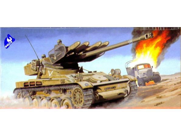 Heller maquette militaire 81122 AMX 13/75 1/35
