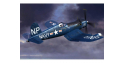 Hobby Boss maquette avion 80390 F4U-5N Corsair Early 1/48