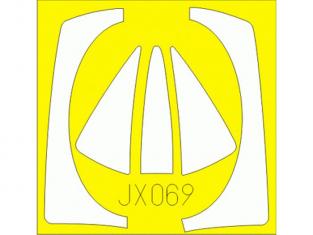 Eduard Express Mask JX069 F-100D Trumpeter 1/32