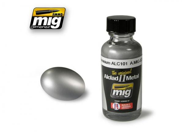 MIG peinture Alclad II 8201 Aluminium ALC101 30ml