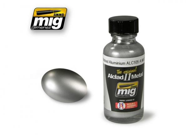 MIG peinture Alclad II 8204 Aluminium poli ALC105 30ml