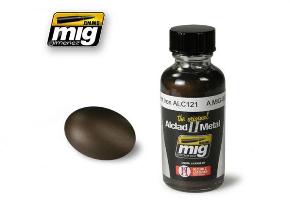 MIG peinture Alclad II 8209 Fer brûlé ALC121 30ml