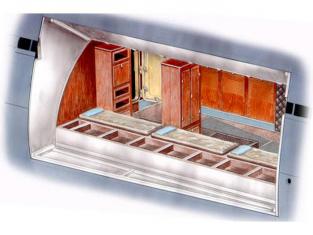 CMK amélioration Bateau n72015 U-Boot Quartier avant d'equipage pour Revell 1/72