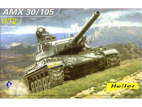 Heller maquette militaire 79899 AMX 30/105 1/72