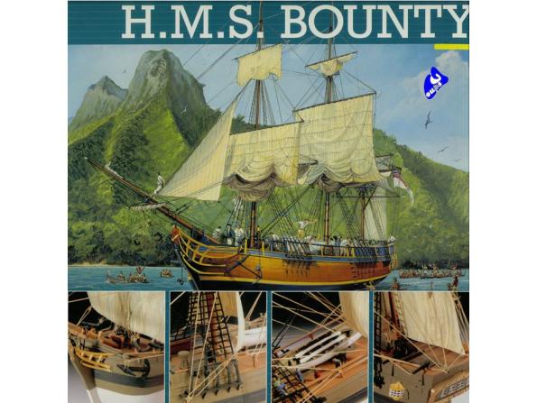 revell maquette bateau 5404 hms Bounty 1/110