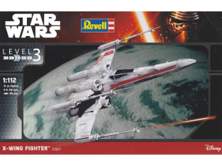 Revell star wars 03601 X-Wing Fighter 1/112