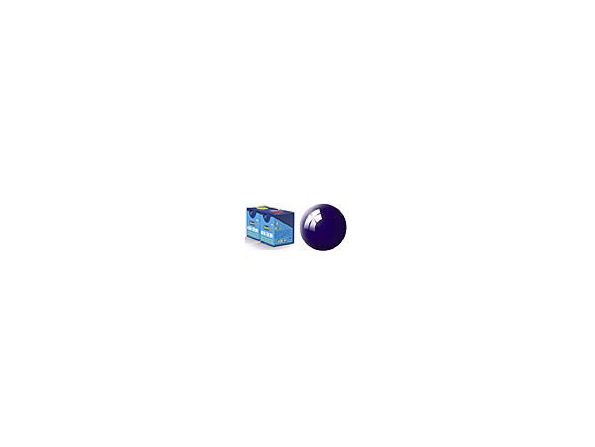 peinture revell Aqua 54 bleu nuit brillant