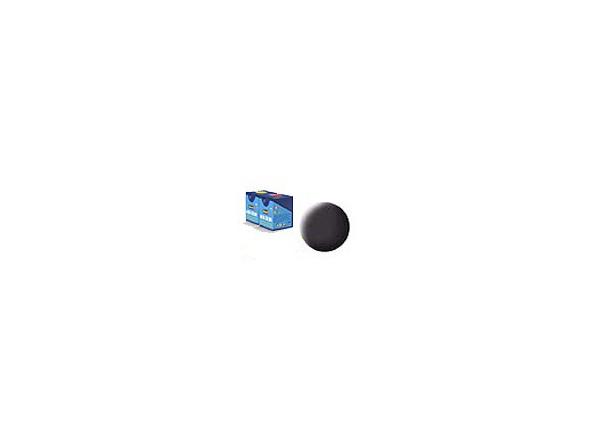 peinture revell Aqua 06 noir goudron mat