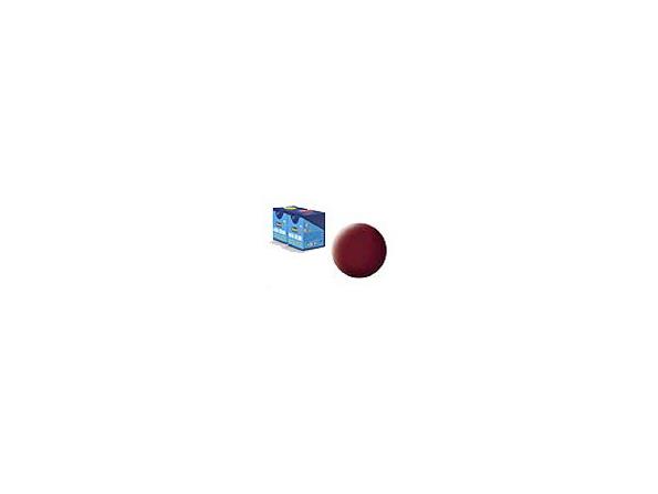 peinture revell Aqua 37 rouge brique mat