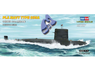 HOBBY BOSS maquette sous marin 87020 PLA NAVY TYPE 039G 1/700