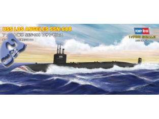 HOBBY BOSS maquette sous marin 87014 USS SSN-668 Los Angeles 1/7