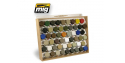 Mig Jimenez accessoire peinture 8014 Presentoir pour pots Tamiya / Gunze 10ml