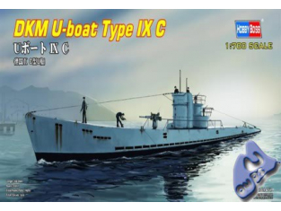 HOBBY BOSS maquette sous marin 87007 U-Boat type IXC 1/700