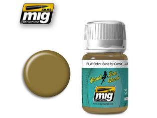 MIG Panel Line Wash 1622 Ochre pour Camouflage sable 35ml