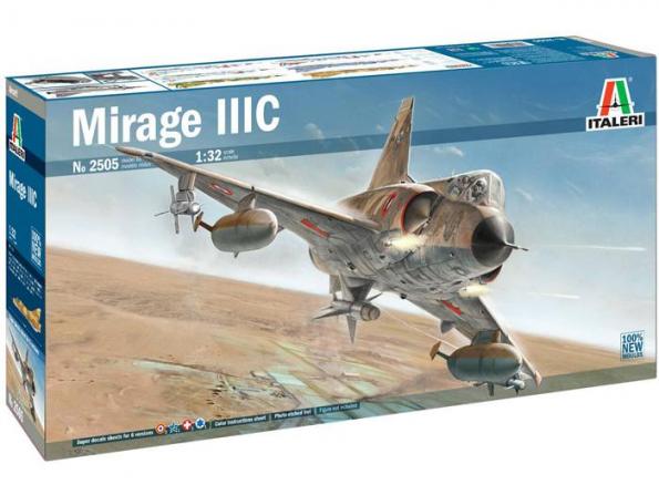 Italeri maquette avion 2505 Mirage IIIC 1/32