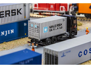 Faller diorama 180823 20' Container MAERSK SEALAND 1/87