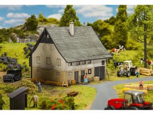 Faller diorama 130538 Maison des ouvriers 1/87