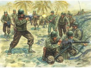 Italeri maquette miltaire 6120 Infanterie U.S. 1/35