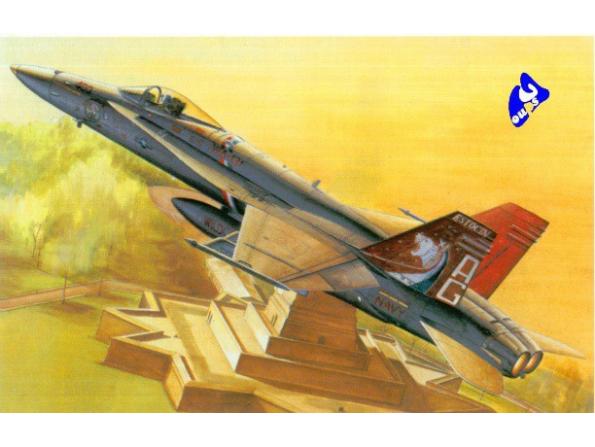 Hobby Boss maquette avion 80321 F/A-18C Hornet 1/48