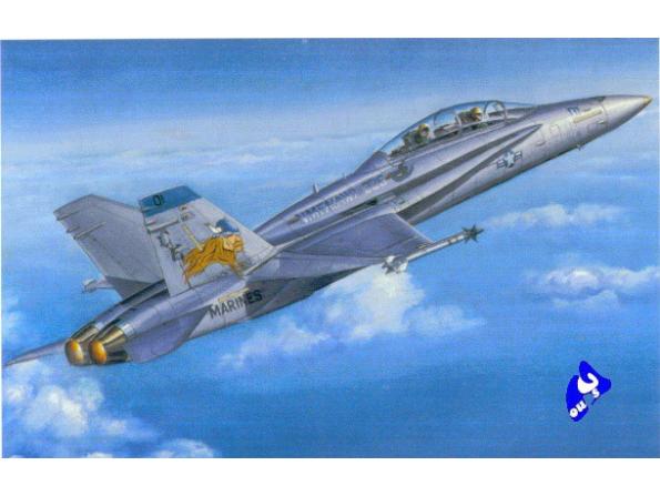 Hobby Boss maquette avion 80322 F/A-18D Hornet 1/48
